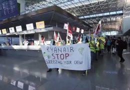 Streik bei Ryanair