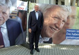 CDU Hessen präsentiert Wahlplakate