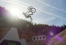 Weltelite der Freeride-Mountainbiker in Birkenfeld