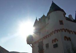 Burg Pfalzgrafenstein bei Niedrigwasser ein Erlebnis