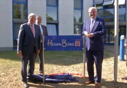 Bouffier eröffnet Hessenbüro