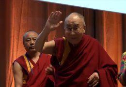 Der Dalai Lama zu Besuch in Darmstadt