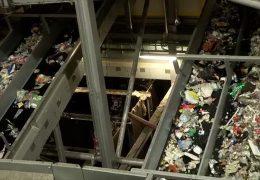 Hochmoderne Müllsortierung in Hessen