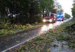 Sturmtief verursacht schwere Schäden