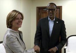 Ministerpräsidentin beendet Ruanda-Reise
