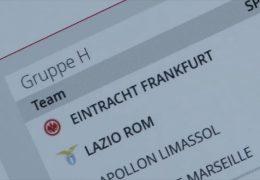 Eintracht besiegt Lazio