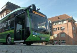Erster E-Linienbus in Hessen