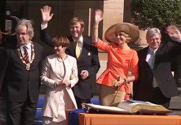 Das niederländische Königspaar zu Besuch in Rheinland-Pfalz