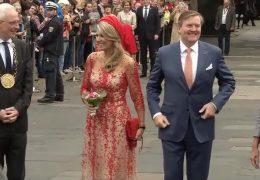Willem-Alexander und Máxima besuchen Karl Marx