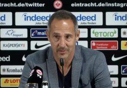 Eintracht Frankfurt auf Höhenflug