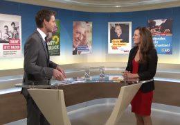 Die Sondersendungen zur hessischen Landtagswahl – zu Gast im Studio: Janine Wissler (Die Linke)