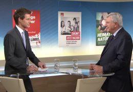 Sondersendung zur hessischen Landtagswahl – zu Gast im Studio Volker Bouffier (CDU)