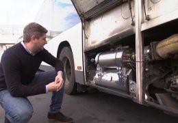 Wie sauber kann ein Stadtbus werden?