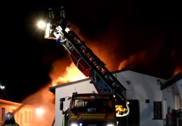 Brand in Schreinerei