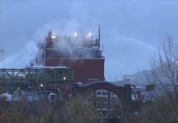 Chemieunfall im Industriepark Griesheim