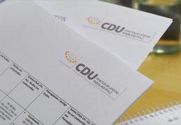 CDU will mehr Geld für Infrastruktur ausgeben