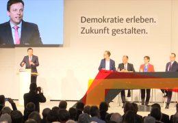 Die Kandidaten für den CDU-Parteivorsitz stellen sich den Parteimitgliedern vor