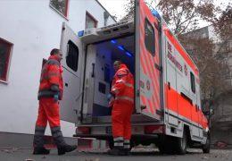 Gelöste Radmuttern an Rettungswagen