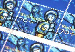 Sonderbriefmarke in Mainz vorgestellt