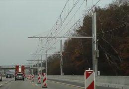 Erste Testfahrten auf dem E-Highway auf der A 5