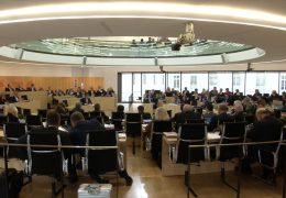 Letzte Landtagssitzung in Wiesbaden