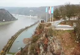 Neues Loreley-Plateau fast fertig