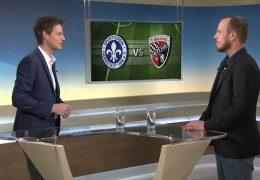 Studiotalk mit Sportreporter David Rischke