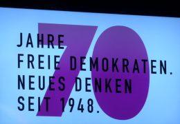 Die FDP feiert ihre Gründung in Heppenheim vor 70 Jahren