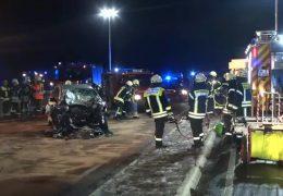 Zwei Tote bei Autounfall in der Nähe von Montabaur
