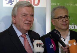 Koalitionsvertrag – Schwarz-grün will in Hessen weiterregieren