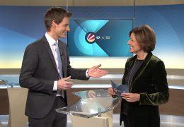 Ministerpräsidentin Malu Dreyer als Gastmoderatorin