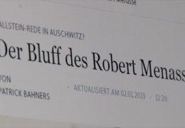 Soll Schriftsteller Robert Menasse Carl-Zuckmayer-Medaille erhalten?