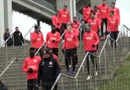 Eintracht startet mit Training in die Rückrunde