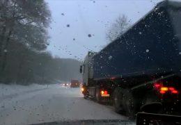 Schnee führt zu Unfällen in der Eifel und im Hunsrück