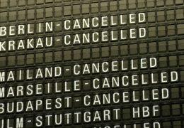 Streik des Sicherheitspersonals legt Flughafen lahm