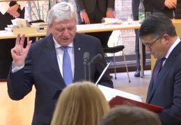 Volker Bouffier bleibt hessischer Ministerpräsident