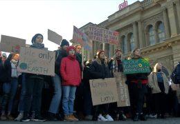 Demonstrationen gegen die Klimapolitik
