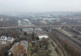 Verkehrsinfarkt an der Salzbachtalbrücke auf der A 66 droht