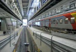 Die neue Werkstatt der Hessischen Landesbahn