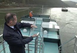 Verkehrsminister Wissing mahnt beim Bund die Rheinvertiefung an