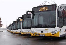 Mainz und Frankfurt setzen auf saubere Busse und Müllwagen