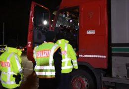 Kontrolle: Wieder alkoholisierte LKW-Fahrer aus dem Verkehr gezogen