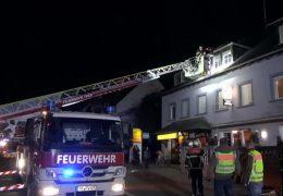 Brandstiftung in Trier Mietshaus