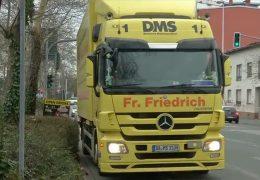Keine Informationen zu Ausnahmen beim Fahrverbot in Darmstadt