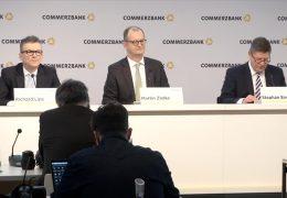 Commerzbank mit ordentlichem Gewinn
