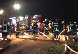 2 Brände in Bischofsheim – Verdächtiger festgenommen