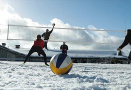 Deutsche Snow-Volleyball-Meisterschaft in Willingen