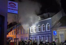 Sieben Verletzte bei Wohnungsbrand in Konz