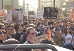 In Frankfurt wird gegen Upload-Filter demonstriert