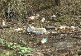 Teure Müllentsorgung an Autobahnen